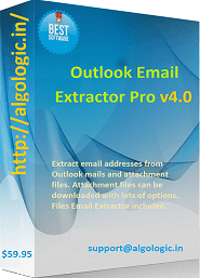 Outlook Email Extractor Pro Screen shot