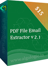 extract offline pdf files email address