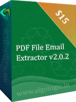 PDF File Email Extractor Screen shot