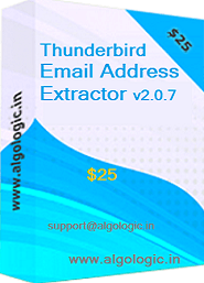 Click to view Thunderbird Email Address Extractor 2.0.7 screenshot
